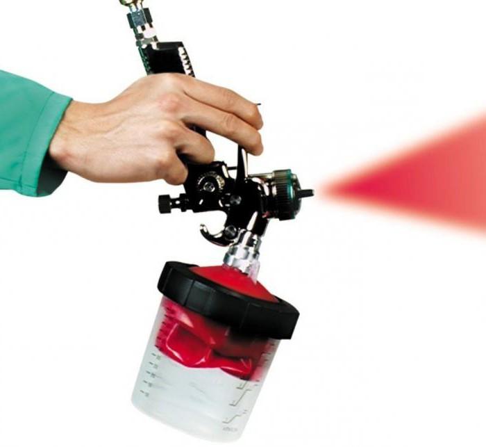 Краскопульт для компрессора: выбор, характеристики, отзывы