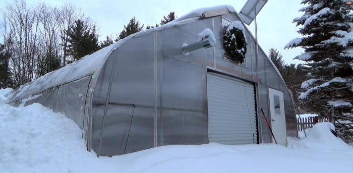 проектирование и монтаж зимней теплицы