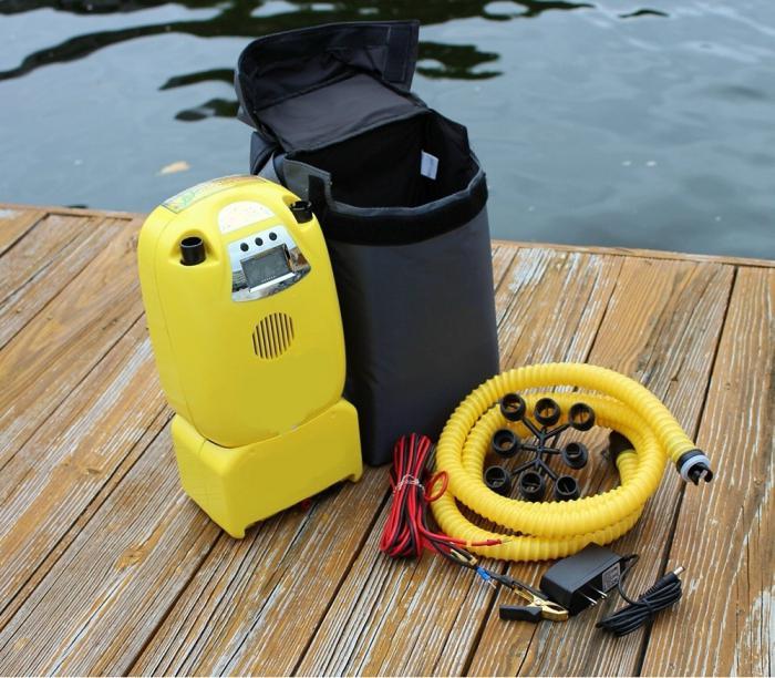 электрический.насос для лодки