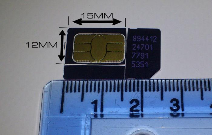 как сделать микросимку из обычной