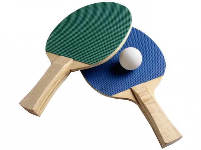 ракетки для пинг понга