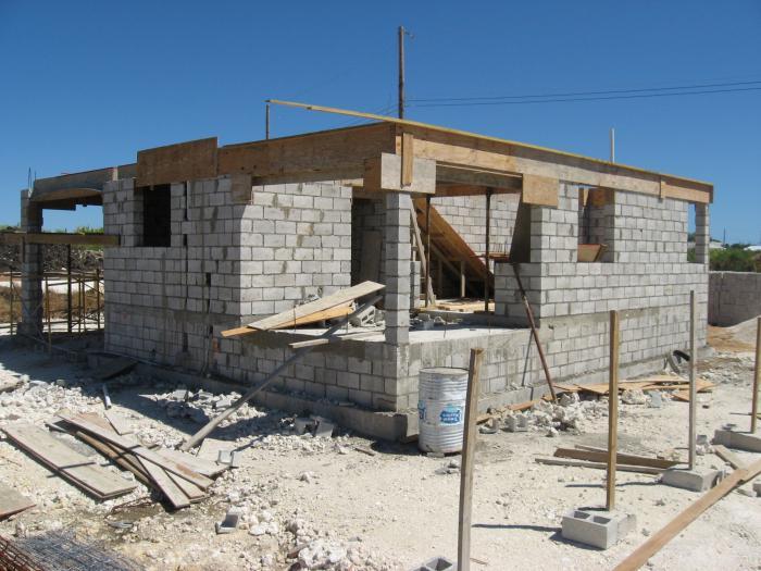 дома из керамзитных блоков