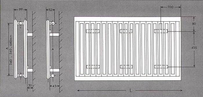радиаторы стальные панельные характеристики