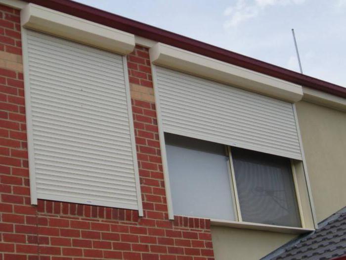 Рольставни на окна металлические: цена, фото, калькулятор