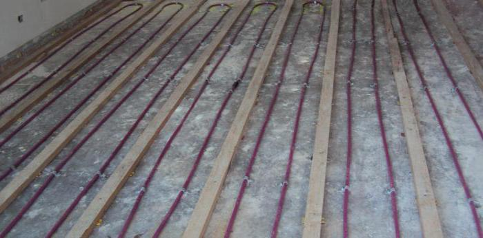 профильные монтажные маты для теплого водяного пола