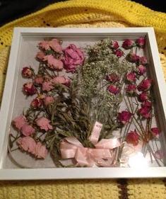 как засушить бутон розы