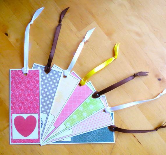 Уроки рукоделия: как сделать закладку из бумаги своими руками