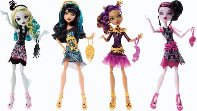 Видео как сделать аксессуары для кукол монстр хай