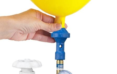 как надуть шарики дома как гелием
