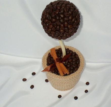 кофейный топиарий фото