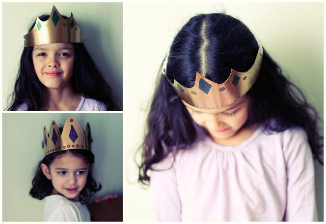 Как сделать из картона корону на голову