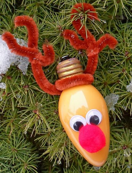 игрушки из лампочек своими руками