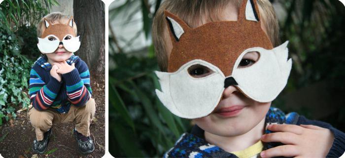как сделать маску из картона