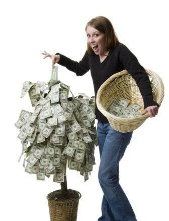 изготовление денежного дерева своими руками