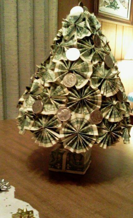 Изготовление денежного дерева своими