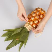 как сделать из шампанского ананас