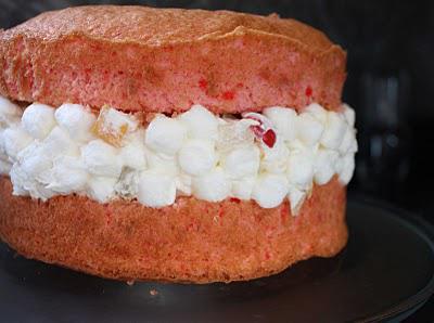 рецепт зефирного торта без выпечки