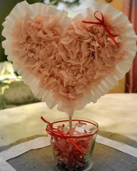 топиарий сердце фото