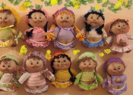 поделки из капроновых колготок куклы