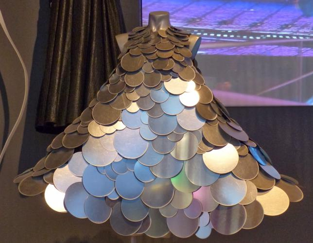 платья из подручных материалов фото