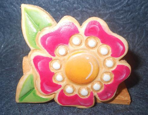 картины цветов из соленого теста