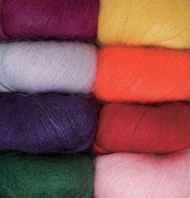 вязание из мохера спицами