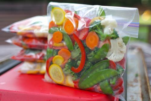 как приготовить замороженные овощи в мультиварке