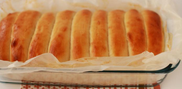 булочка для французского хот дога