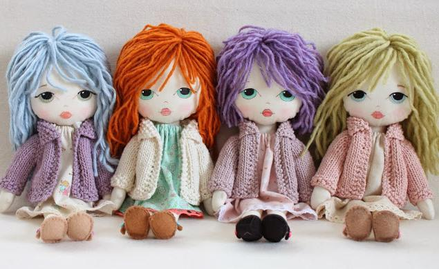 Текстильная кукла изготовление своими руками 772