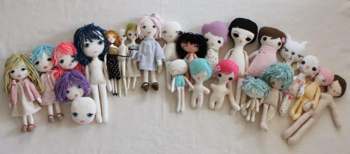 текстильные куклы фото