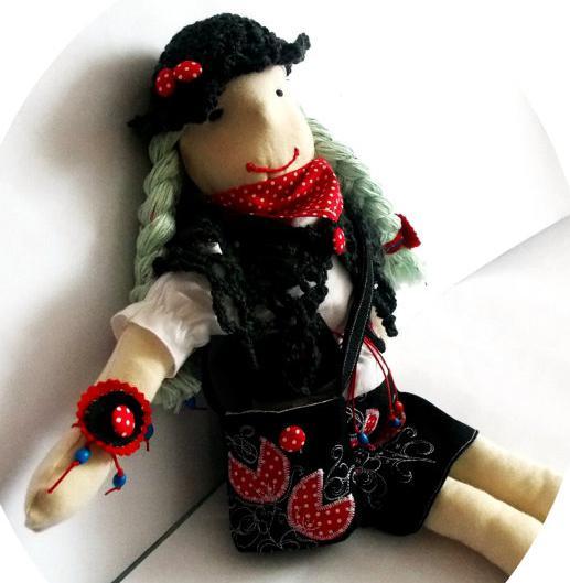 текстильные куклы своими руками