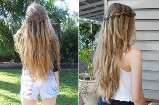 Фото девушек с русыми волосами средней длины