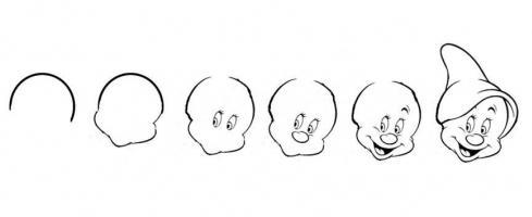 как нарисовать гнома карандашом
