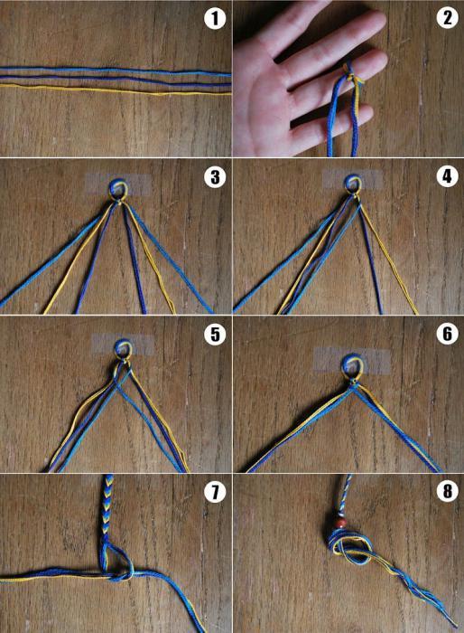 Как сделать фенечки своими руками фото
