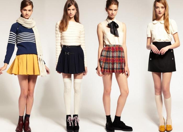 Модели юбок для мальчиков