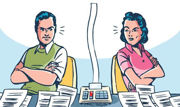 кредит после развода делится пополам