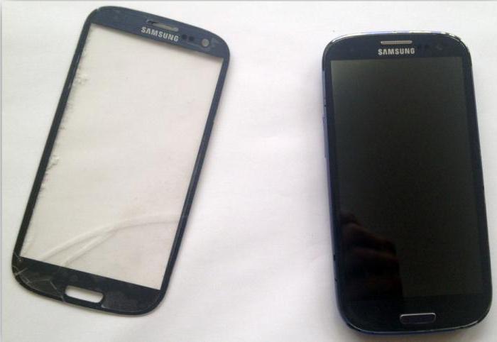 Samsung Galaxy S3 замена стекла — Тюмень