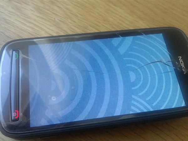 Не работает сенсор на Nokia