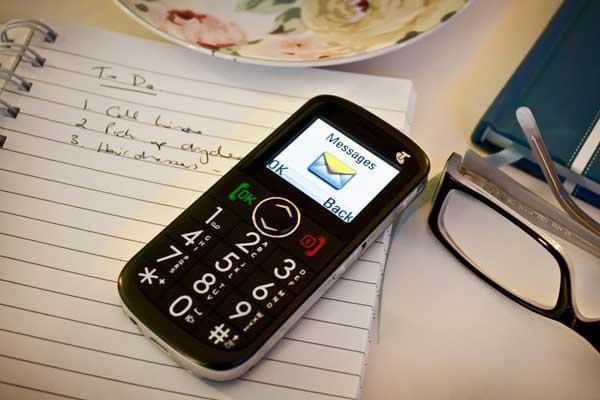 Бабушкин телефон с большими кнопками