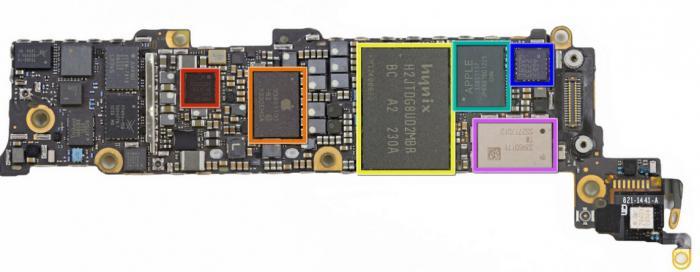Замена контроллера питания iphone 4s