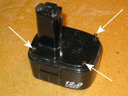 Акумулятор для шурупокрута