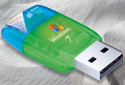 Установить Windows 7 на флешку