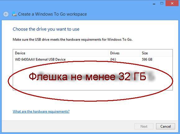 Windows на флешку