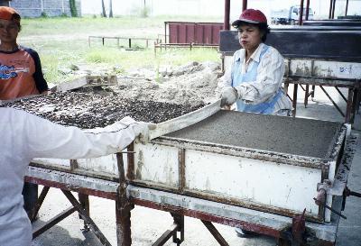 Мини завод шлакоблоков