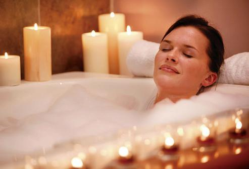 лежать в ванной при беременности