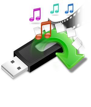 как удалить на флешке восстановленные файлы
