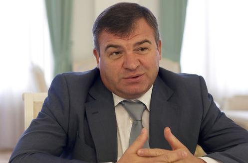 Кто был министр обороны рф до сердюкова