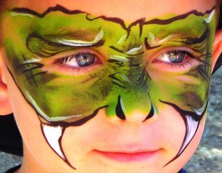 краски для лица для детей