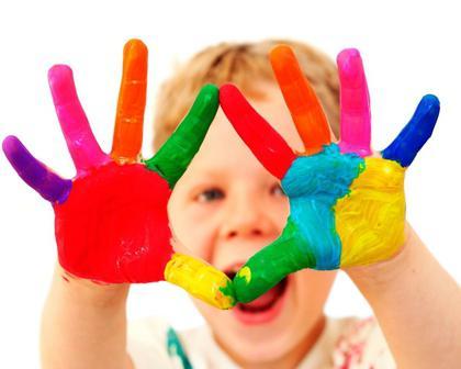 как разукрасить лицо красками