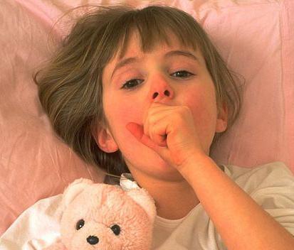 У ребенка сильный кашель ночью